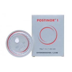 Thuốc tránh thai khẩn cấp trong vòng 72 giờ Postinor 1 (1.5mg)