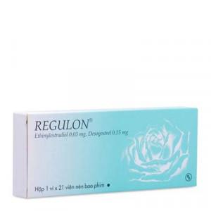 Thuốc ngừa thai Regulon (1 vỉ x 21 viên/hộp)