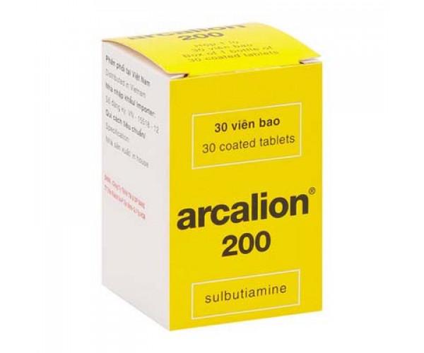 Thuốc hỗ trợ điều trị mệt mỏi Arcalion 200mg (30 viên/hộp)