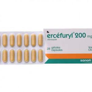 Ercéfuryl 200mg (2 vỉ x 14 viên/hộp)