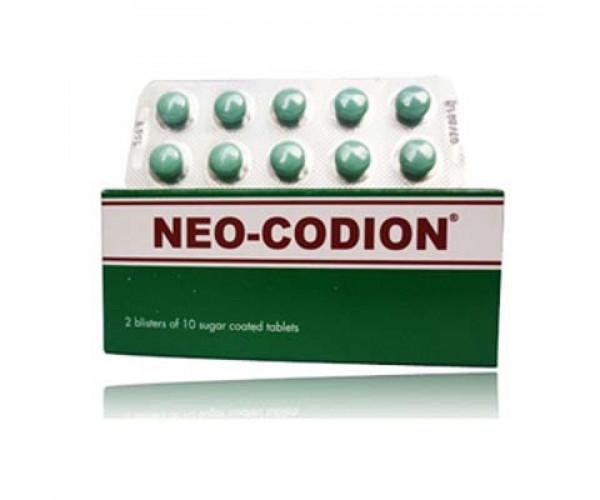 Neo-Codion (2 vỉ x 10 viên/hộp)