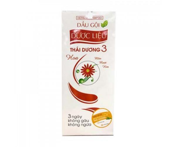 Dầu gội dước liệu sạch gàu suôn mềm hương hoa Thái Dương 3 (200ml)