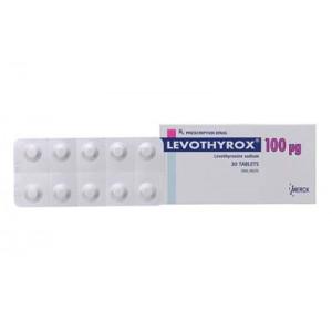 Thuốc điều trị bệnh lý tuyến giáp Levothyrox 100mcg (3 vỉ x 10 viên/hộp)