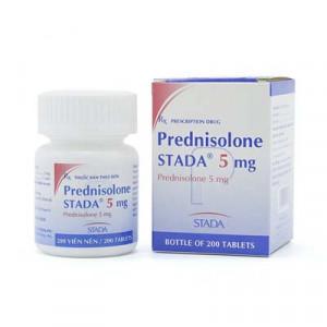 Prednisolone STADA 5mg (200 viên/lọ)