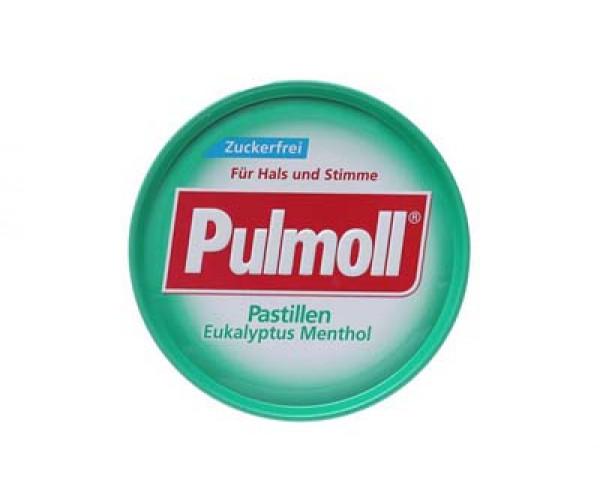Kẹo ngậm ho Pulmoll Pastillen Eukalyptus Menthol (50g/hộp)