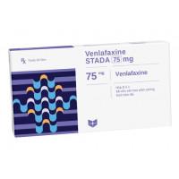 Thuốc điều trị rối loạn tâm thần Venlafaxine Stada 75mg (2 vỉ x 14 viên/hộp)