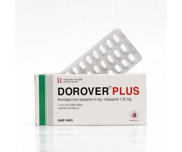Thuốc điều trị tăng huyết áp Dorover Plus (30 viên/hộp)