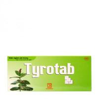 Viên ngậm sát trùng Tyrotab (1 vỉ x 10 viên/hộp)