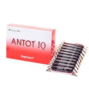 Antot IQ (2 vỉ x 10 ống/hộp)