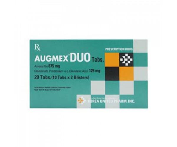 Thuốc kháng sinh Augmex Duo 1g (2 vỉ  x 10 viên/hộp)