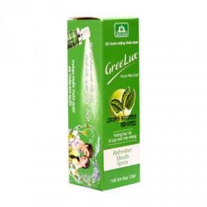 Xịt thơm miệng hương bạc hà vị cay mát nhẹ nhàng GreeLux Fresh Mint Cool (12ml)