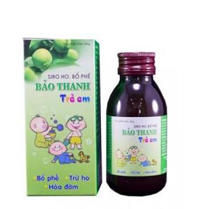 Thực phẩm bảo vệ sức khỏe bổ phế Siro Bảo Thanh Trẻ Em (100ml)