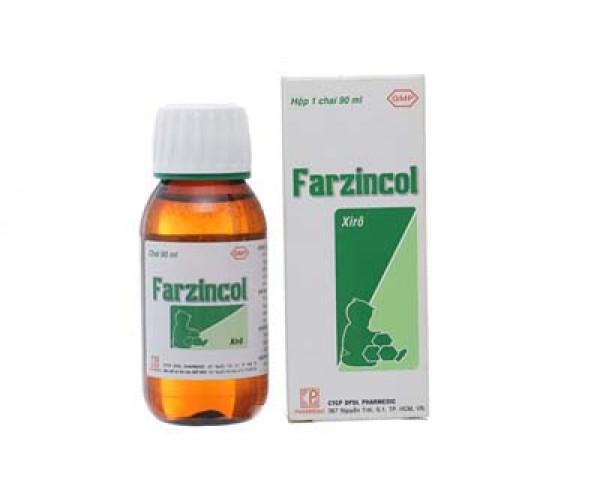 Siro bổ sung kẽm Farzincol (90ml)