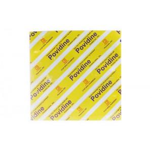 Gạc thuốc sát trùng Povidine Povidon Iod 10% (10 miếng x 3g thuốc/hộp)
