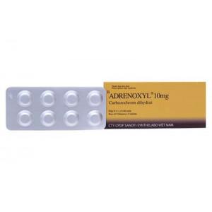 Adrenoxyl 10mg (8 vỉ x 8 viên/hộp)