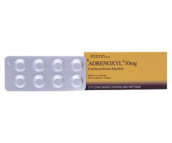 Thuốc cầm máu Adrenoxyl 10mg (8 vỉ x 8 viên/hộp)