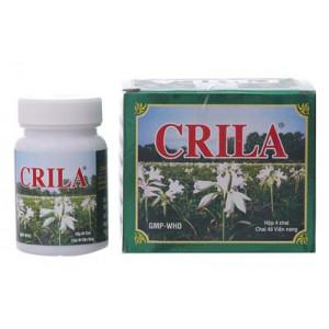 Thuốc điều trị u xơ tử cung & phì đại lành tính tuyến tiền liệt Crila (40 viên/chai)