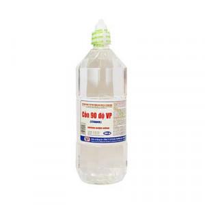 Cồn y tế 90 độ trắng Vĩnh Phúc (1000ml/chai)