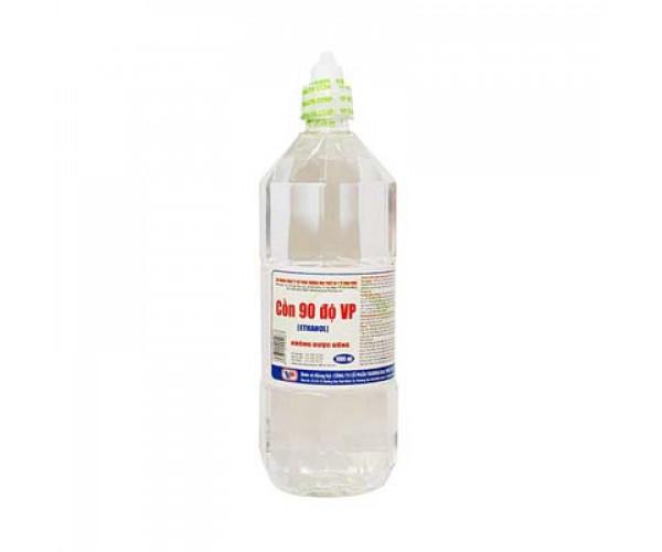 Cồn y tế 90 độ trắng Vĩnh Phúc (1000ml)
