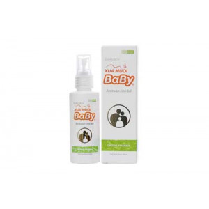 Dung dịch Xua Muỗi Baby cho trẻ em (chai 60ml)