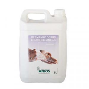 Dung dịch rửa tay phẫu thuật Demanios Scrub Chlorhexidine 4% (Chai 5 Lít)