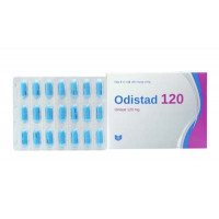 Thuốc điều trị béo phì, giảm cân Odistad Stada 120mg (2 vỉ 21 viên/hộp)