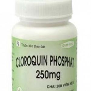 Cloroquin Phosphat 250mg MKP (200 viên/chai)