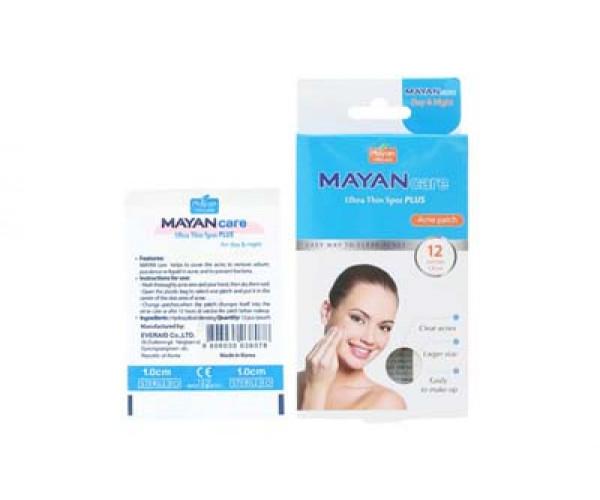 Miếng dán trị mụn Mayan Care Ultra Thin Spot Plus (12 miếng/hộp)