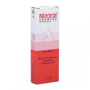 Dầu gội phòng và điều trị gàu, ngứa da đầu & viêm da tiết bã Nizoral 2% (50ml)