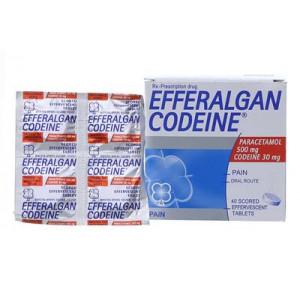 Thuốc giảm đau, hạ sốt Efferalgan Codeine (10 vỉ x 4 viên/hộp)