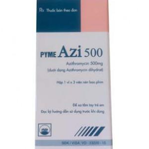 Pyme Azi 500mg (1 vỉ x 3 viên/hộp)
