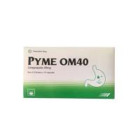 Thuốc điều trị loét dạ dày - tá tràng Pyme OM40 (3 vỉ x 10 viên/hộp)