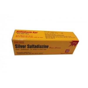 Kem bôi trị bỏng Silver Sulfadiazin (20g)