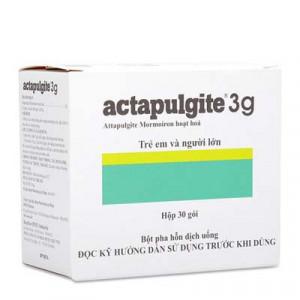 Thuốc bột điều trị rối loạn đường ruột, tiêu chảy và chướng bụng Actapulgite 3g (30 gói/hộp)