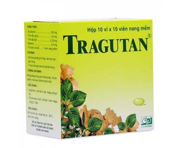 Thuốc sát trùng đường hô hấp làm dịu cơn ho Tragutan (10 vỉ x 10 viên/hộp)