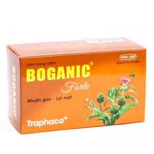 Thuốc bổ gan, lợi mật, thông tiêu, giải độc Boganic Forte Traphaco (5 vỉ x 10 viên/hộp)