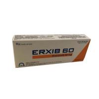 Thuốc giảm đau, kháng viêm Erxib 60mg (3 vỉ x 10 viên/hộp)