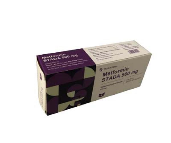 Metformin Stada 500mg (3 vỉ x 10 viên/hộp)
