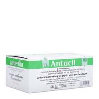Thuốc điều trị triệu chứng đau viêm loét dạ dày – tá tràng Antacil (25 vỉ x 10 viên/hộp)