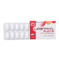 Thuốc điều trị mỡ máu Lipanthyl Supra 160mg (3 vỉ x 10 viên/hộp)