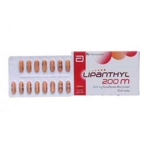 Thuốc điều trị mỡ máu Lipanthyl 200mg (2 vỉ x 15 viên/hộp)