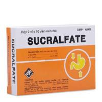 Thuốc điều loét dạ dày-tá tràng Sucralfate (2 vỉ x 10 viên/hộp)