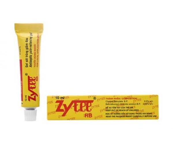 Thuốc điều trị lở miệng, đau răng, kích ứng răng giả Zytee (10ml)
