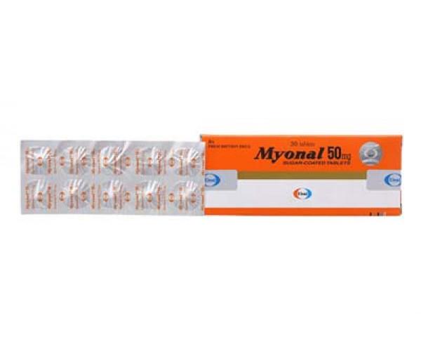 Thuốc giãn cơ Myonal 50mg (3 vỉ x 10 viên/hộp)