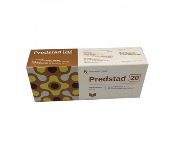 Thuốc kháng viêm Predstad 20mg (2 vỉ x 10 viên/hộp)