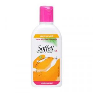 Kem chống muỗi hương cam Soffell (Chai 60ml)