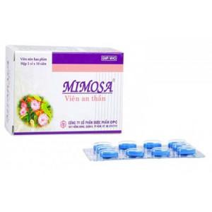 Thuốc an thần Mimosa (5 vỉ x 10 Viên/hộp)