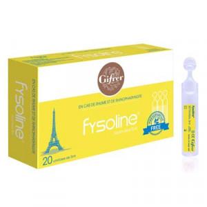 Nước muối sinh lý vệ sinh mũi đặc trị cho trẻ em Fysoline 5ml (20 ống/hộp)