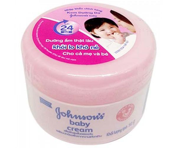 Kem Dưỡng Da Johnson's Baby 50g