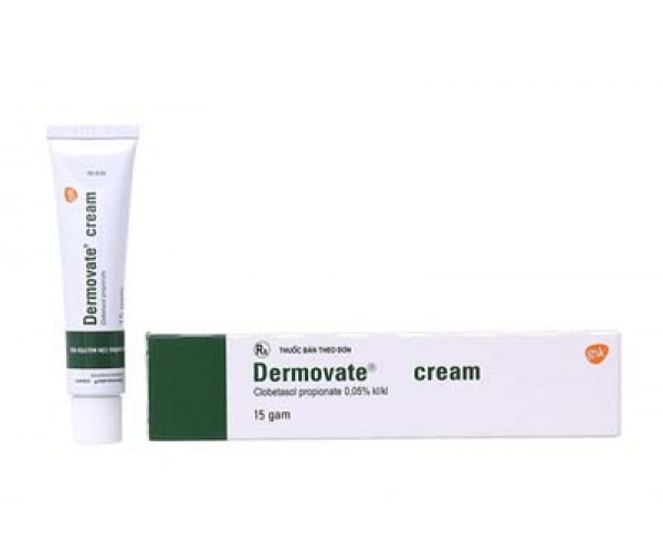 Kem trị vẩy nến Dermovate Cream 0.05% (15g)